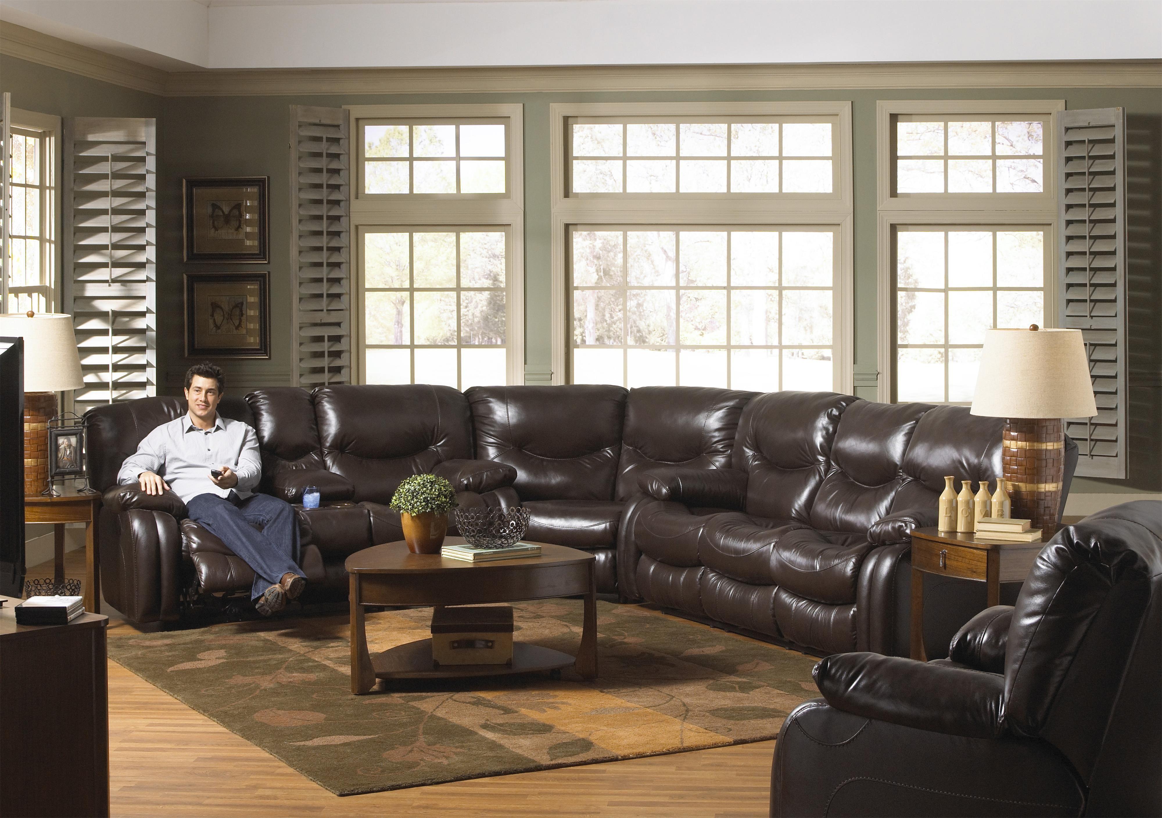Best Arlington Power Reclining Sectional Sofa By Catnapper 400 x 300