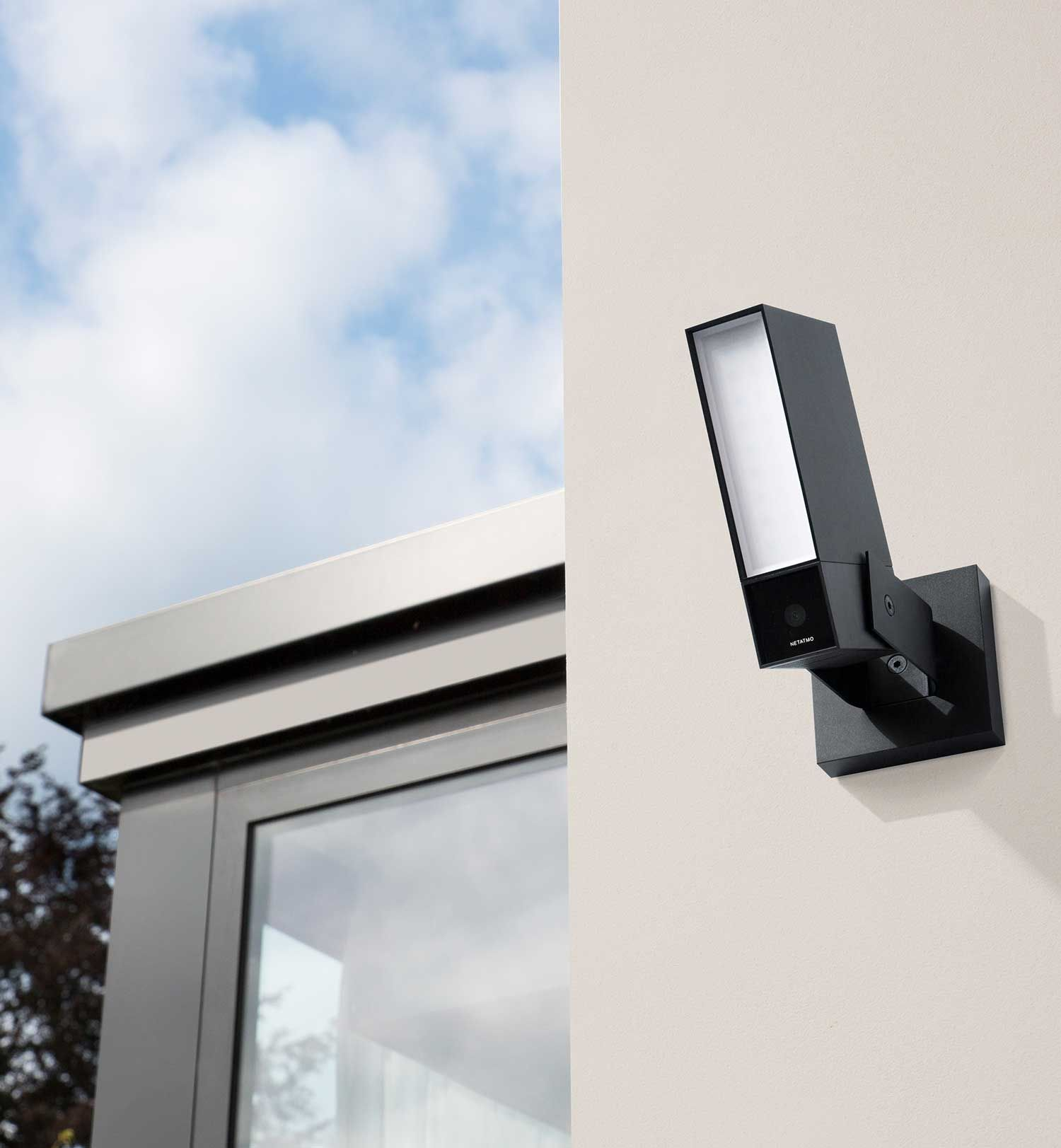 The Netatmo Presence outdoor security camera detects the presence ...