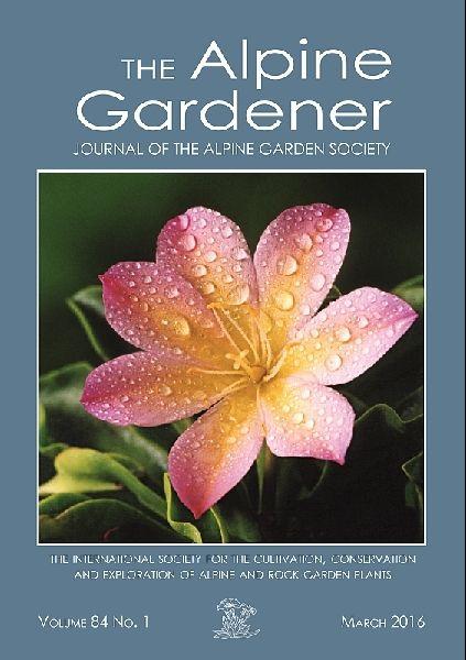 Alpine Garden Society - alpine plants, rock plants, other small hardy plants and bulbs