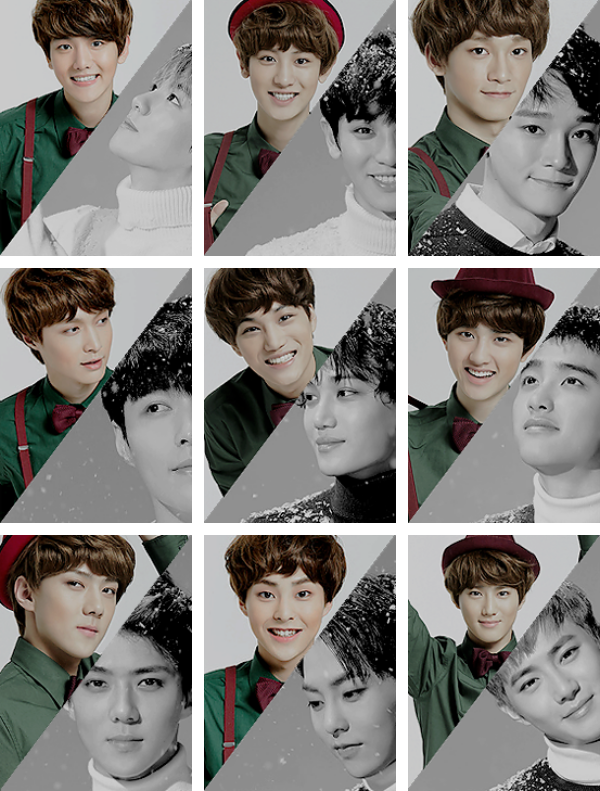 EXO miracles in december ▷ sing for you | then and now.