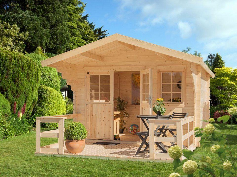 KONIFERA Set Gartenhaus »Lillevilla 265«, BxT 350x440 cm