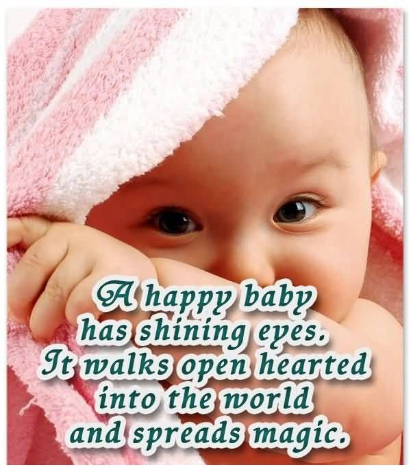 Sweet Shining Eyes Baby Quotes Newborn Baby Quotes Congratulations Baby