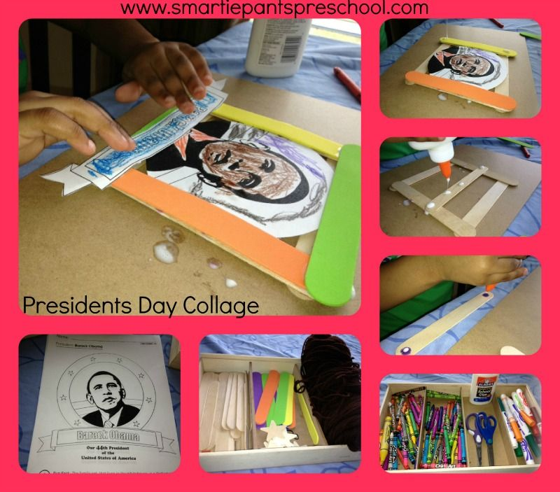 Presidents Day Picture Frame Collage