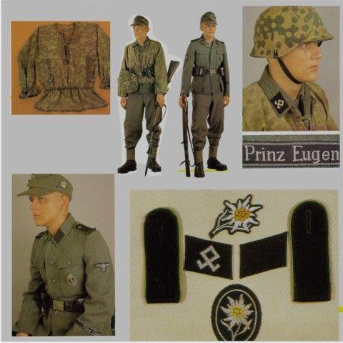 """.SS Mountain Division """" Prinz Eugen """""""