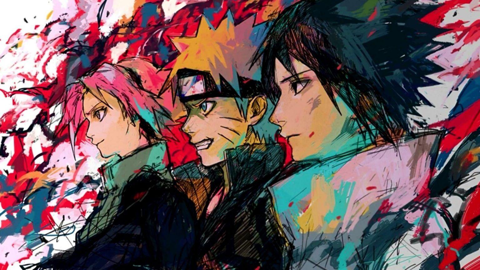 Épinglé sur Naruto fond ecran
