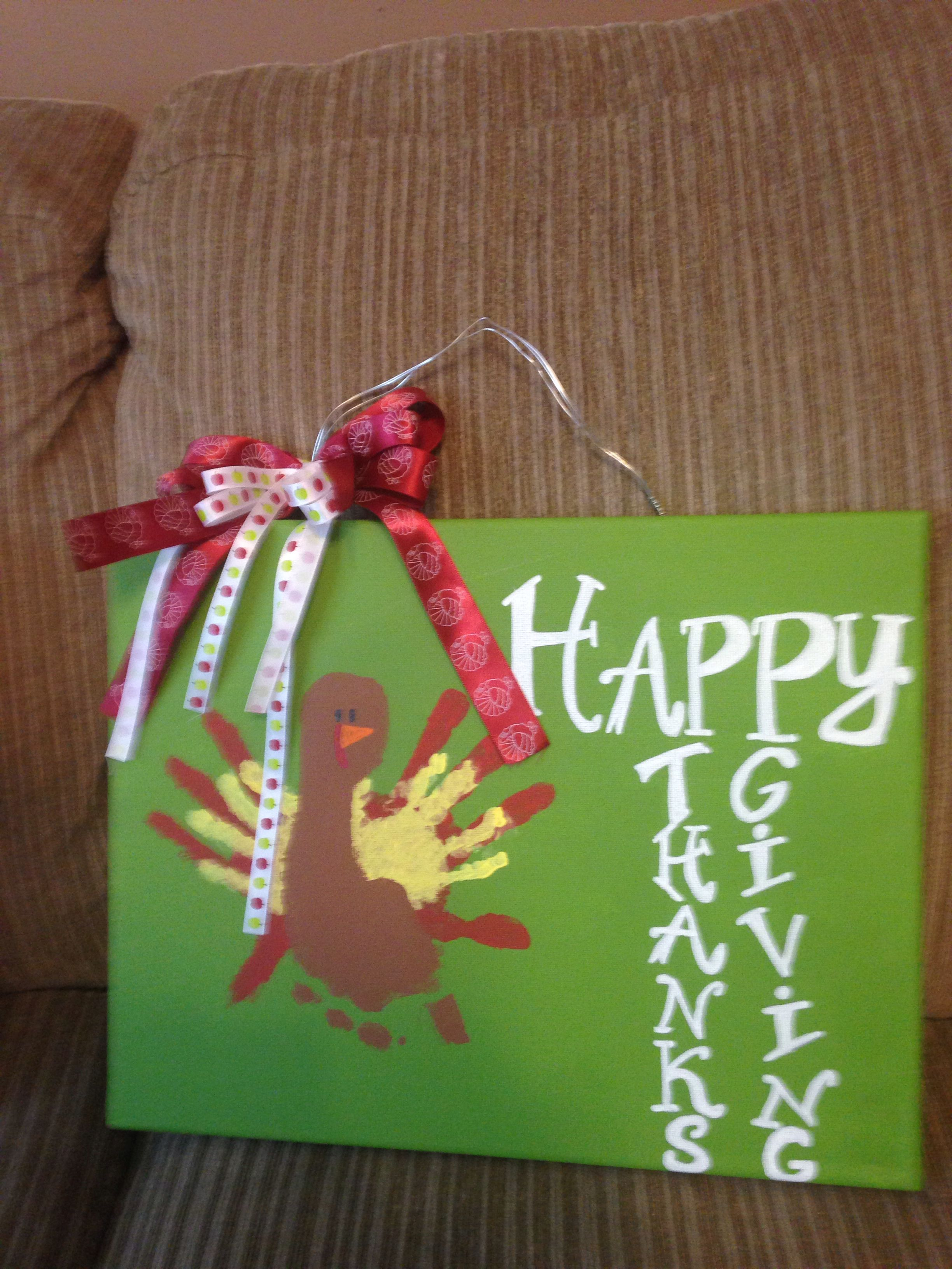 Happy Thanksgiving! Made by Whitney Garibaldi in Morrison, Tennessee!