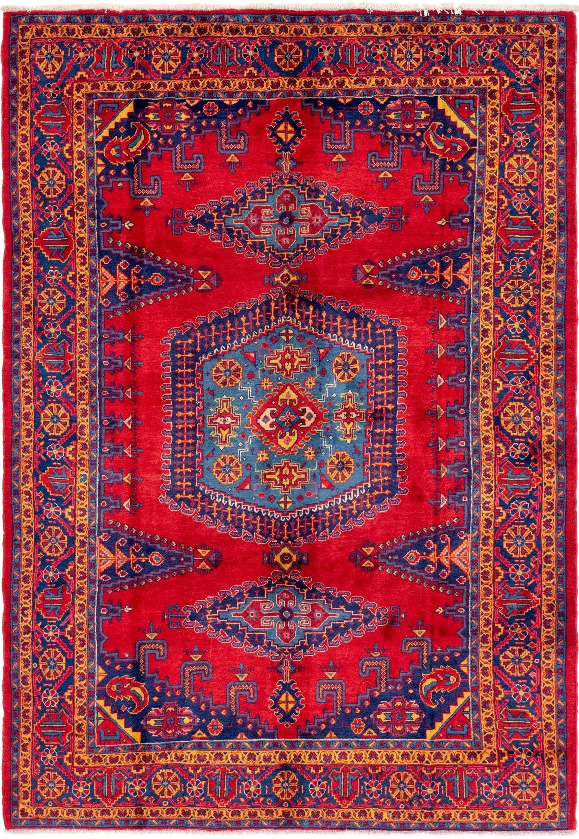 Viss Red Antique 8x11 Area Rug In 2020 Antique Rugs Persian Carpet Rugs Antique Rugs