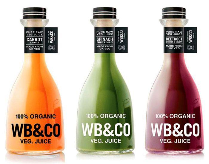 WB Veg Juice #bottle #packaging - love the neck band.