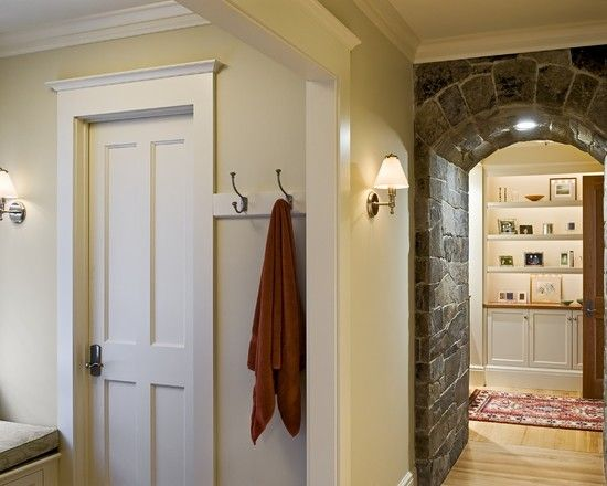 Another Option For Interior Doors; Also Like Trim/molding Around Doors And  Entryways.