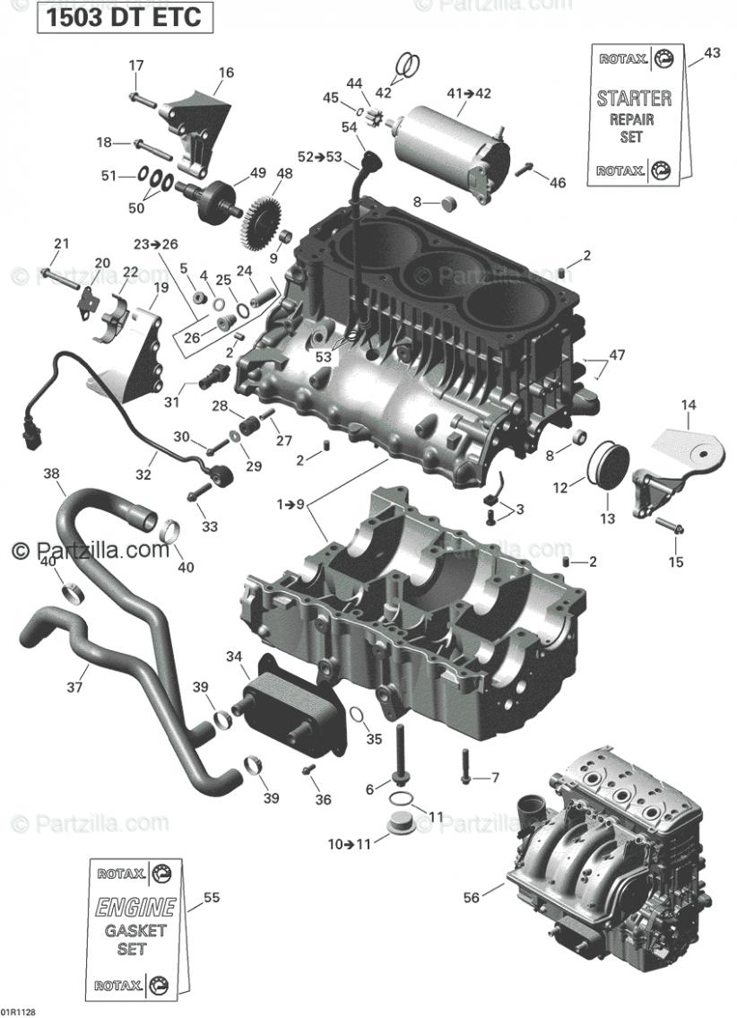 Engine Block Parts Diagram Di 2020