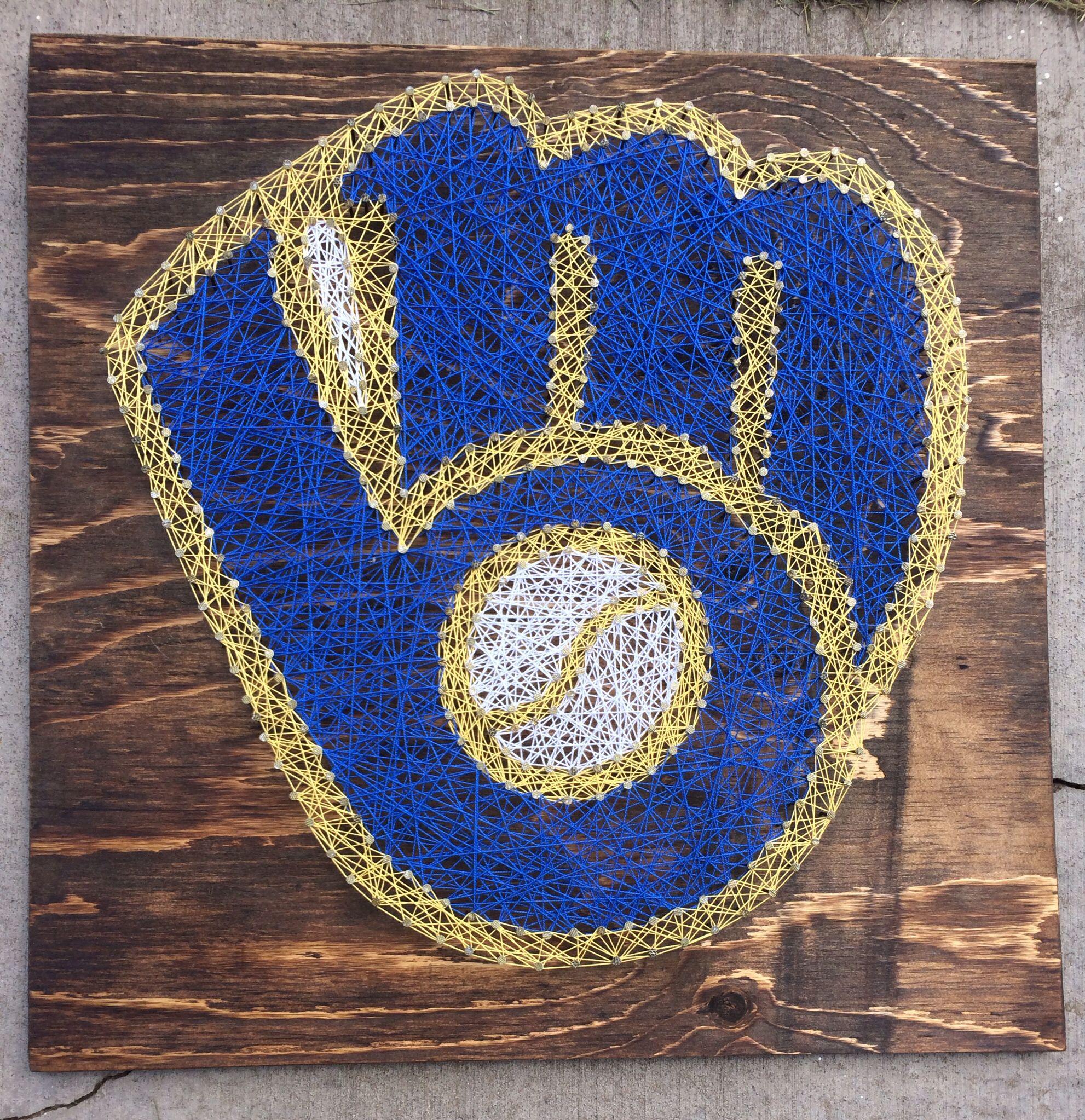 Milwaukee Brewers String Art   String Art   Pinterest   String art ...