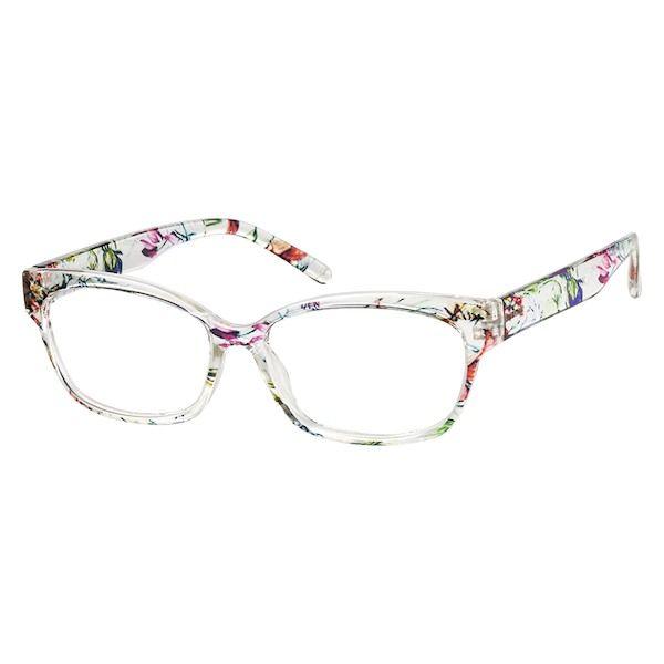 ce8983acd5a Clear Frame Flower Colorful Frame Cat Eye Eyeglasses UV400 Vintage Eyewear  P9729