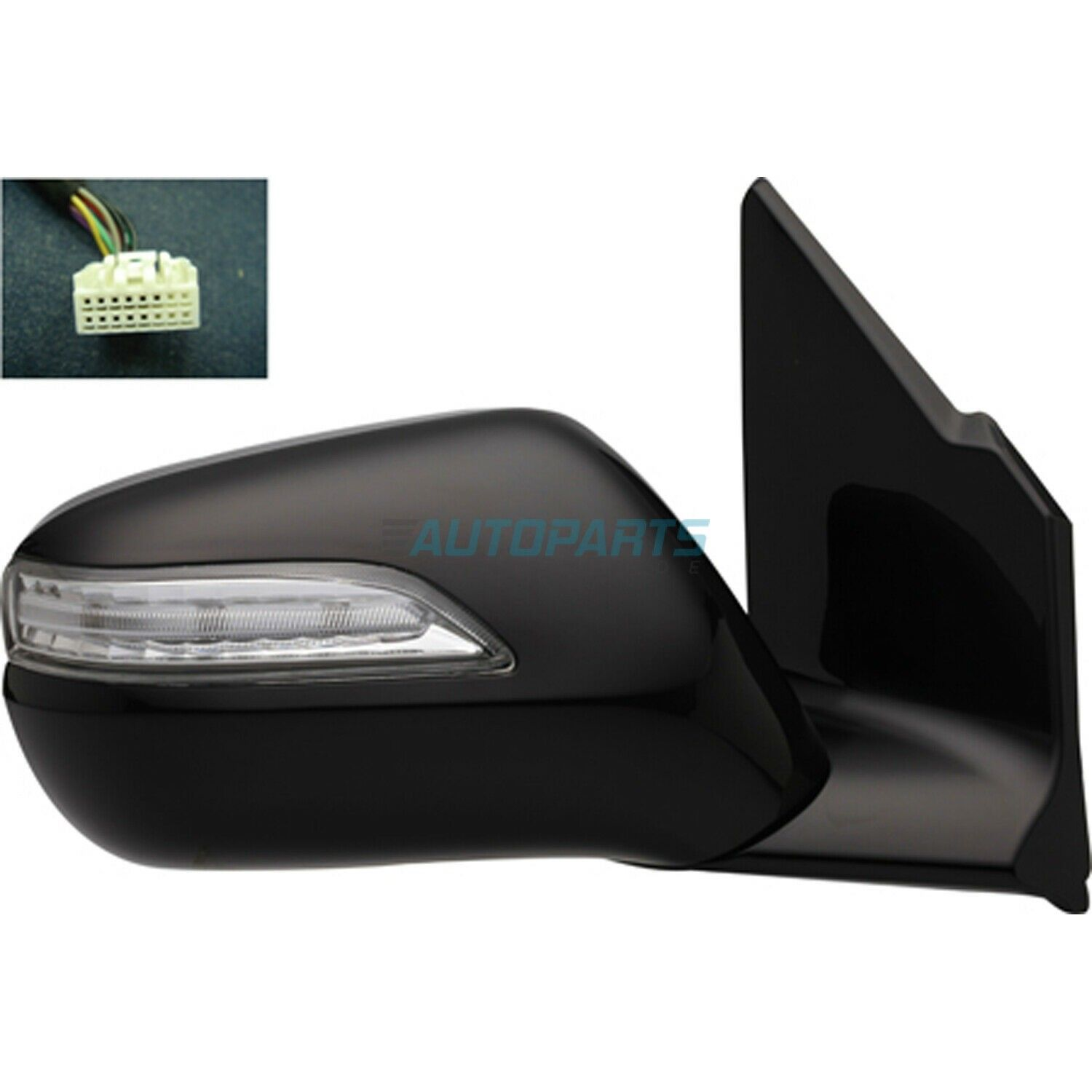 Right Passenger Side Power Mirror Fits 2010-2013 Acura MDX