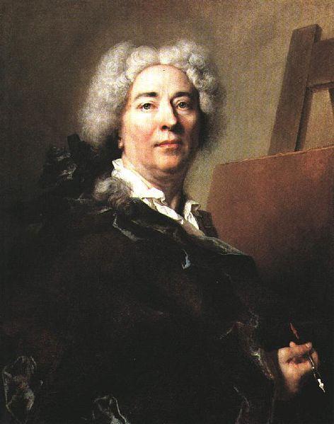 Nicolas de Largillière - Self-Portrait