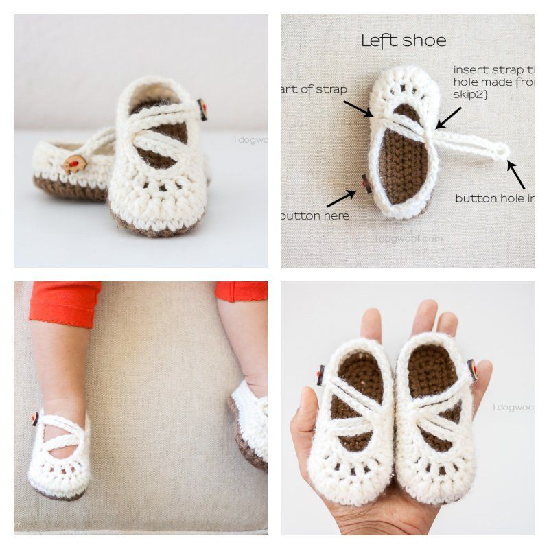 30+ Crochet Baby Shoes Ideas and Patterns | ganchillo | Pinterest ...