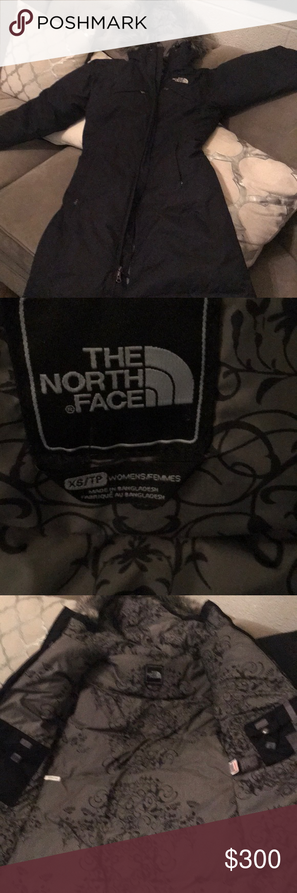 North face HyVent Down fill coat Just above the knee length super cute NWT XS The North Face Jackets & Coats Puffers