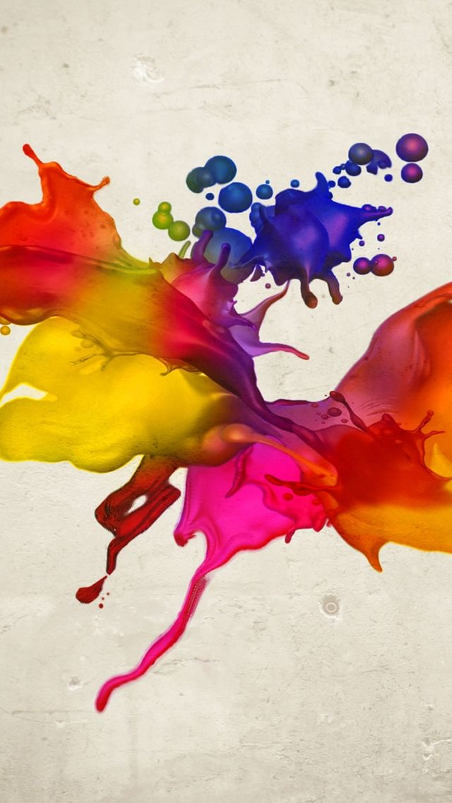 Colors Spray Iphone 5s Wallpaper Http Www Ilikewallpaper Net Iphone 5 Wallpaper Visit Geometric Wallpaper Iphone Iphone 5s Wallpaper Rainbow Painting