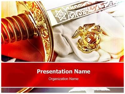 Marine Corps Powerpoint Template is one of the best PowerPoint - navy powerpoint templates