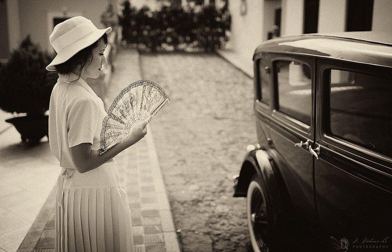 """Ruta histórico teatral """"y llegaron los 30..."""" en la Villa de Mazo (isla de La Palma. Canarias). El pasado 9 de agosto de 2014."""