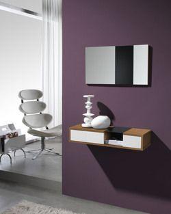 Meuble D Entree Moderne Miroir Agostino Disponible En 2 Coloris Meuble Entree Meuble Entree Design Consoles Entree