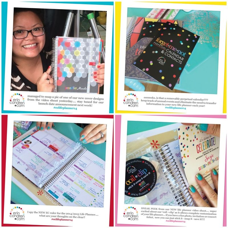 ORGANIZED Jen - Erin Condren 2014-15 Life Planner Launch & Giveaway  #review #giveaway #erincondren #eclifeplanner14 #lifeplanner