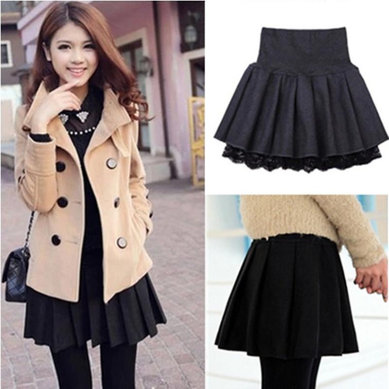32da9b4388 ... Two-Piece Outfit. Sweet woolen skirt SE9367 Use code