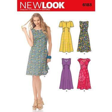 New Look 6183 Women\'s Dress 10 - 22 | Spotlight Australia ...