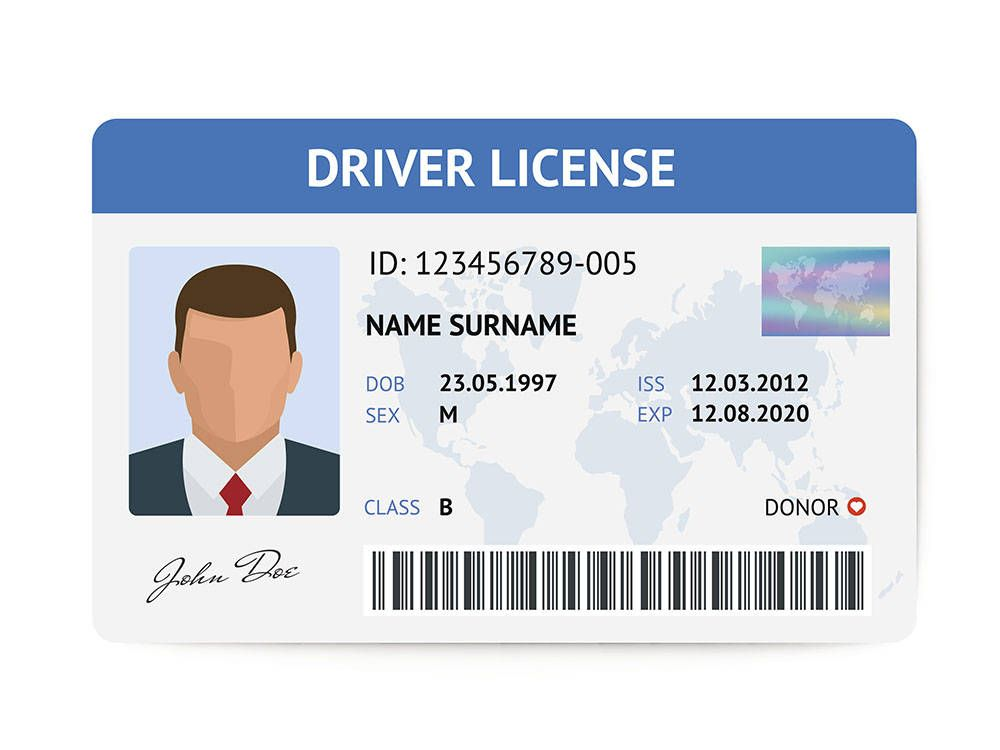 The Person Who Wants A Driving License Is Required To Apply In The Prescribed Form The Applicant Is Required To Pa Drivers License New Drivers Driving License