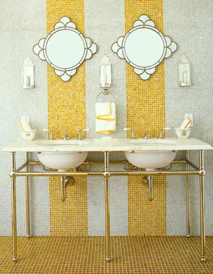 yellow bathroom vanity (with images)   best bathroom