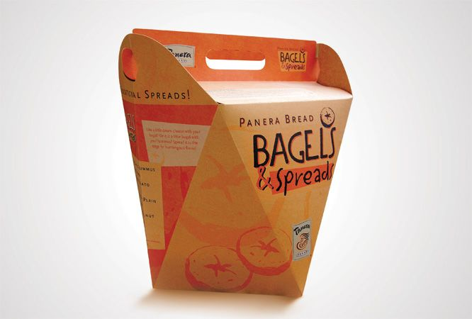 Panera Bread Coffee Box Interesting Panera Bread Bagel Box  Google Search  Packaging  Pinterest Design Inspiration