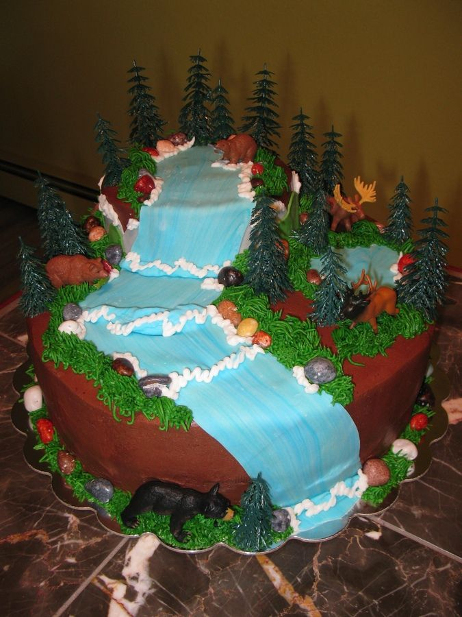 Outdoor Theme Birthday Cakes Outdoor Themed Cakes Http