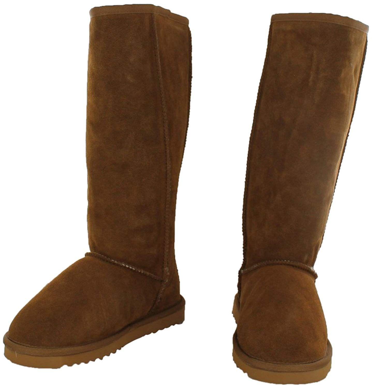 Dije California Women's 14' Classic Sheepskin Boot >>> Want