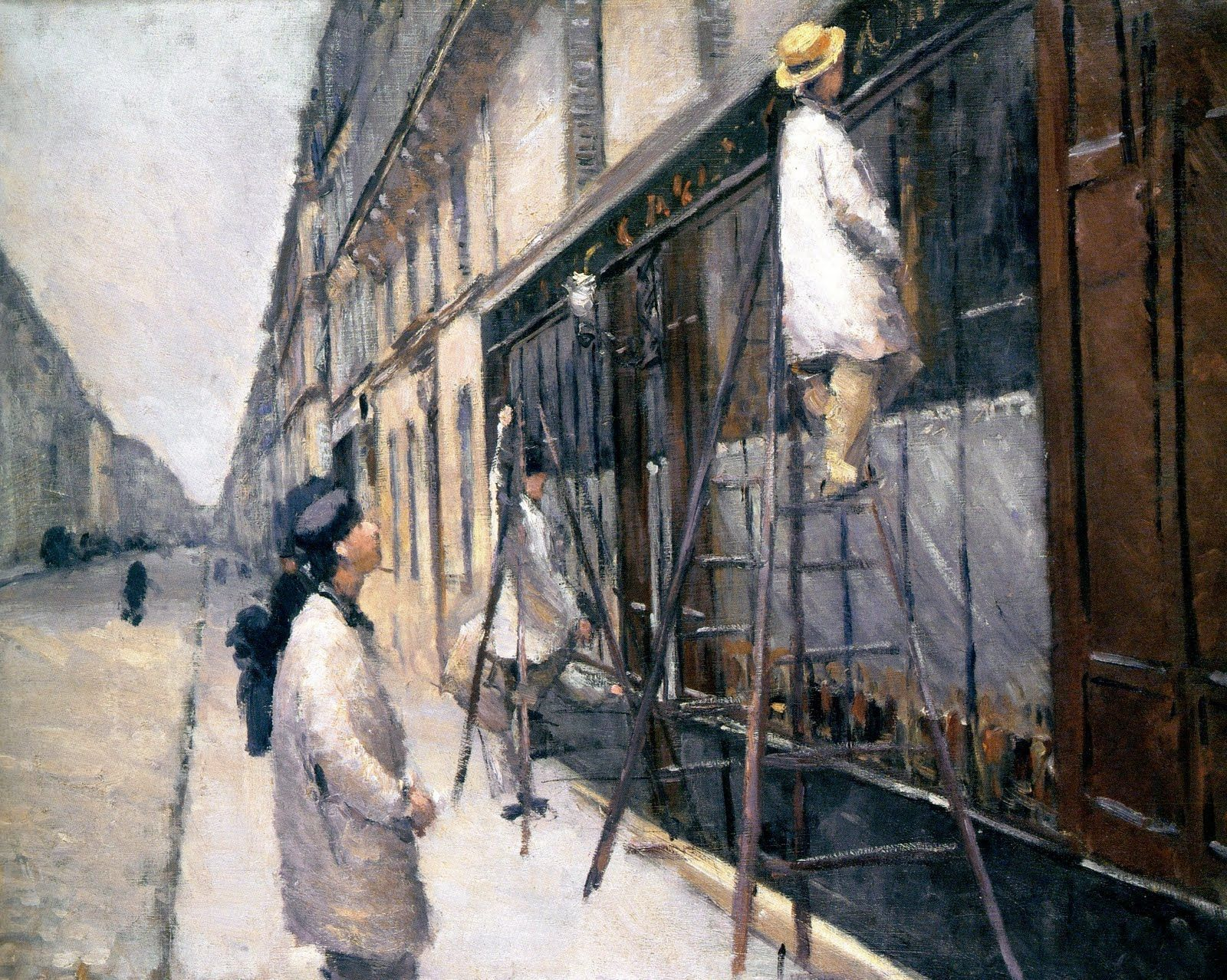 Gustave caillebotte the house painters