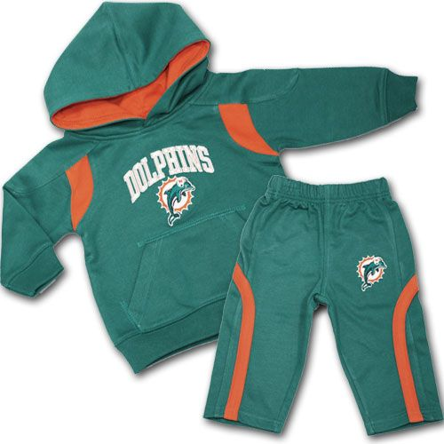 7d38c317 Dolphins Kids Sweatsuit #Miami #Dolphins #Baby #Toddler #Sweatsuit ...