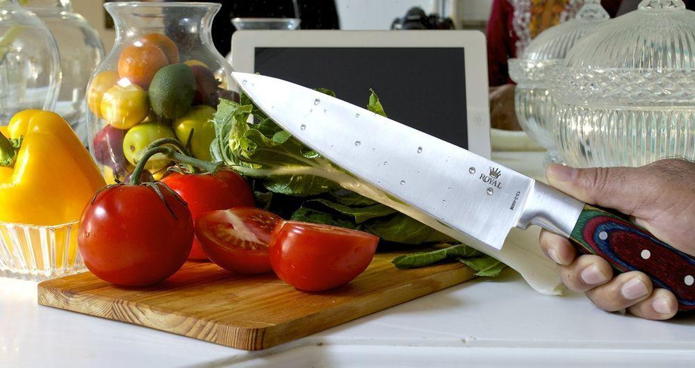Kitchen Knife Royal Chef's 13 inch - Full Tang Blade - Professional  #Royal