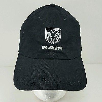 DODGE RAM TRUCK BASEBALL HAT CAP BLACK --FREE SHIPPING fd83d1cdca1