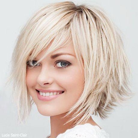 Super Modele coupe de cheveux mi long pour visage rond | coiffure  PO68