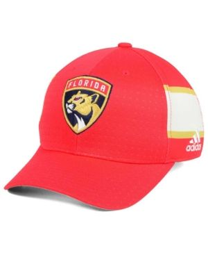 huge selection of 36d08 20c67 adidas Florida Panthers 2017 Draft Structured Flex Cap - Red White Gold L XL