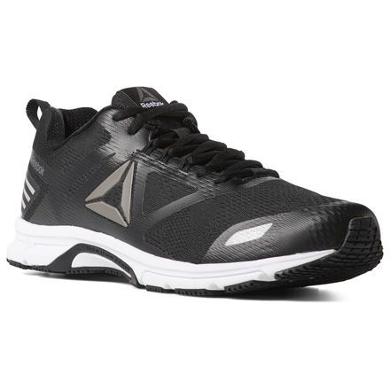 Reebok Shoes Men s Ahary Runner 4E in BLACK WHITE PEWTER Size 8 - Running 3247265cb