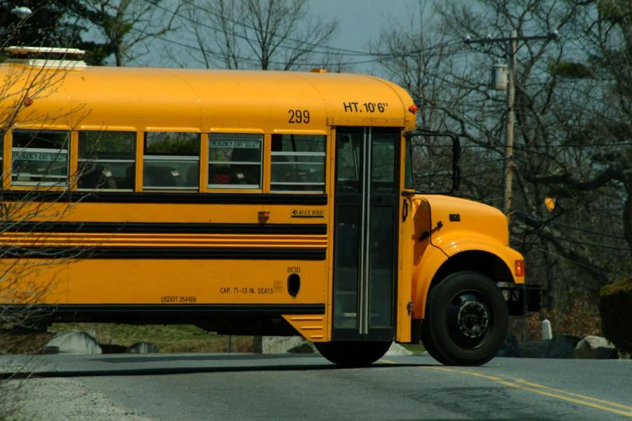 Riding The School Bus Mrs Mack Was The Best Bus Driver C School Bus Kids Ride On Mean Parents