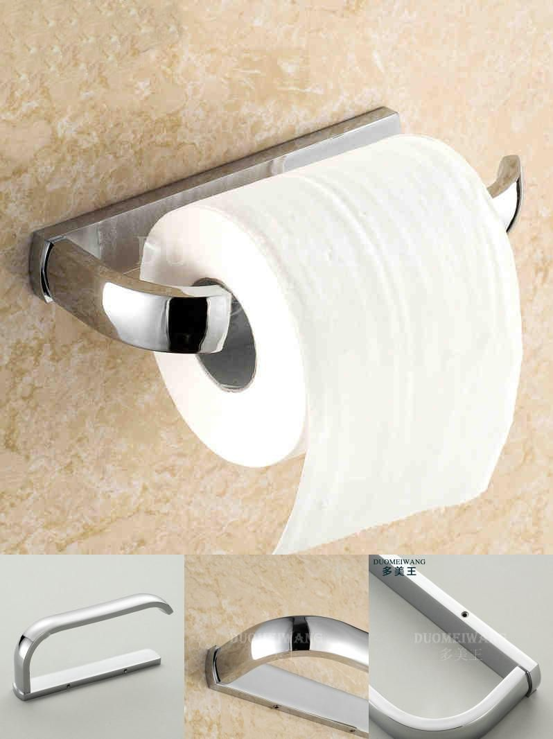 Visit To Buy Free Shipping Wall Mounted Bathroom Stainless Steel Toilet Paper Holder Chrome Finished Advertisement Toilet Paper Chrome Finish Chrome