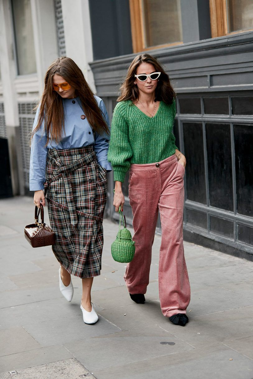 London Fashion Week street style: the coolest looks off the runway pics