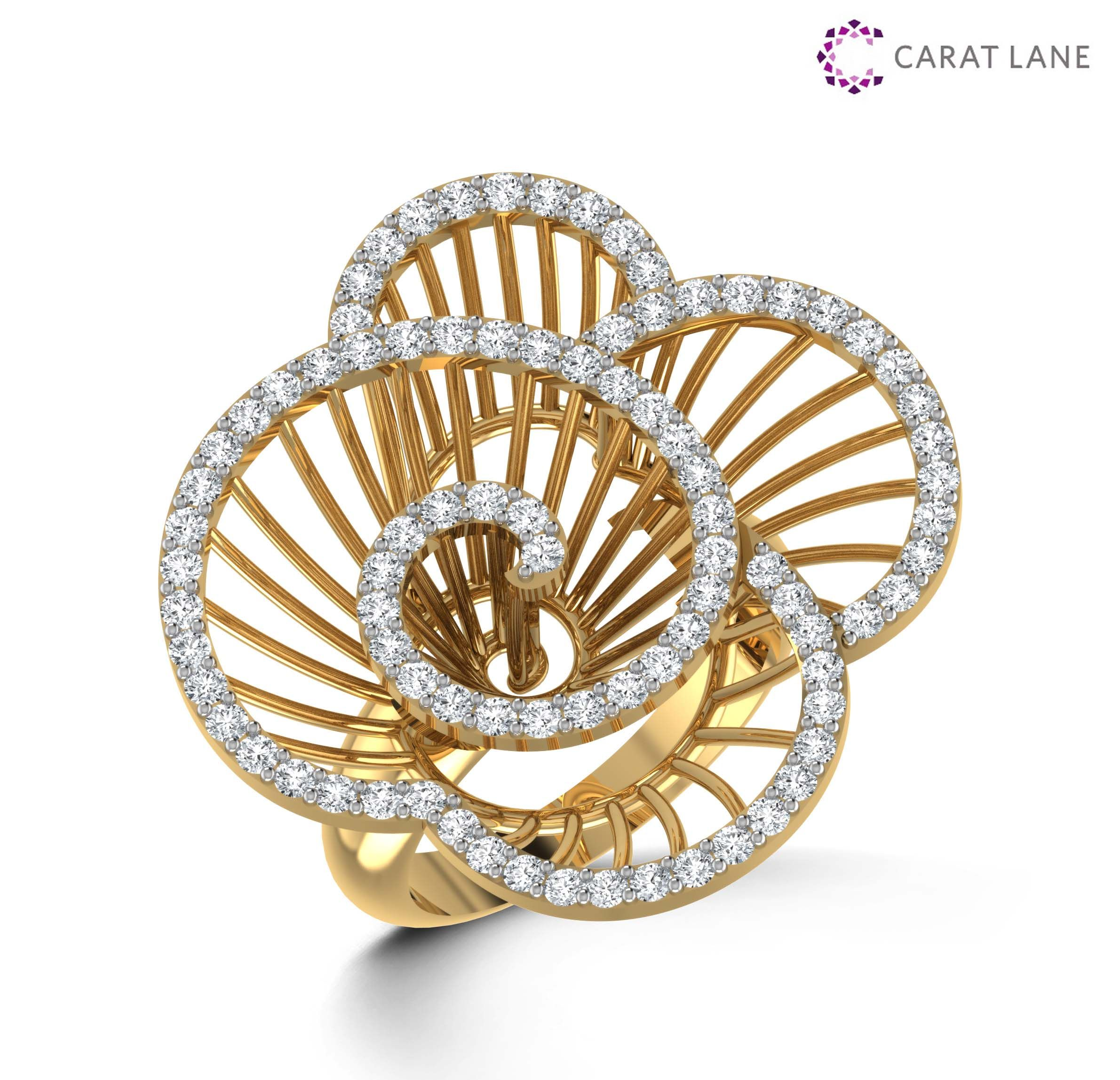engagement with rope swirl rings oval row prong pave pin lotus shank single overlapping halo outline diamond