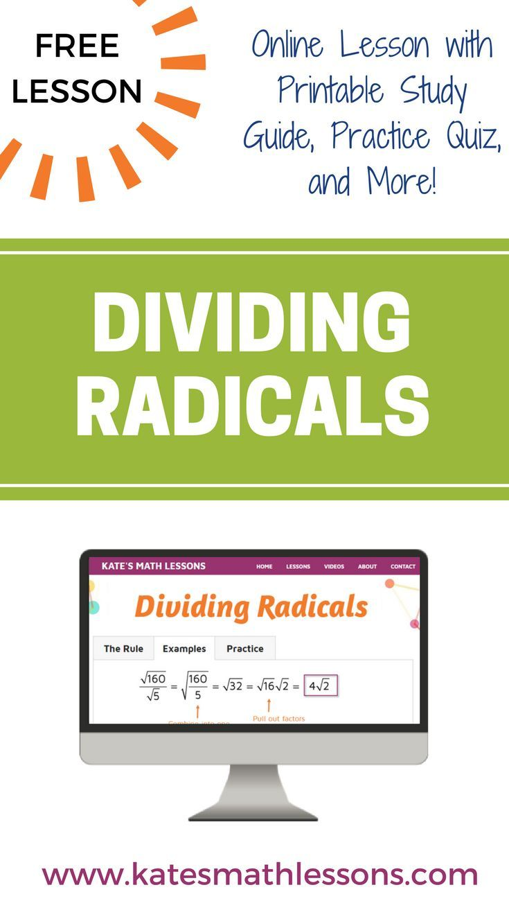 Need help dividing with radical expressions? This free algebra ...