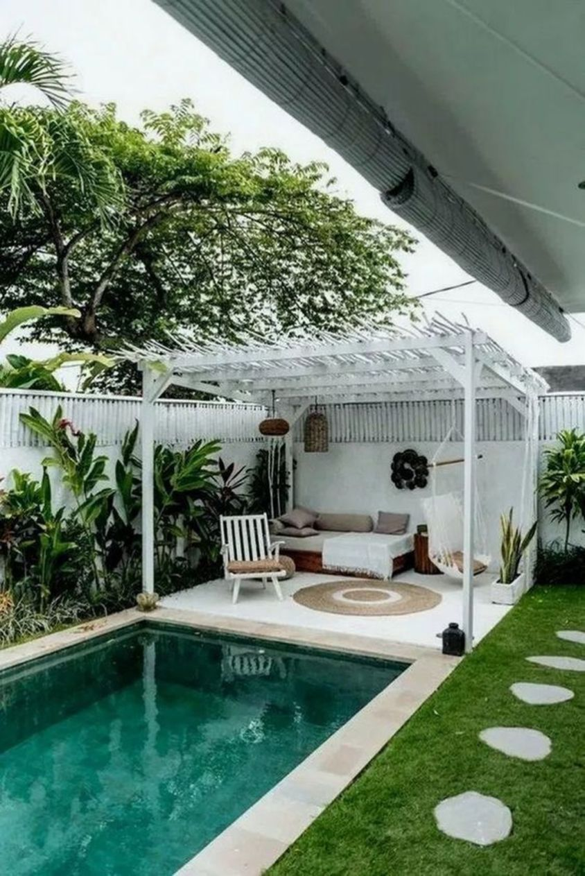 Cool Outdoor Garden Design Ideas With Small Pool For Your Home18 Small Backyard Design Beautiful Backyards Small Backyard Pools