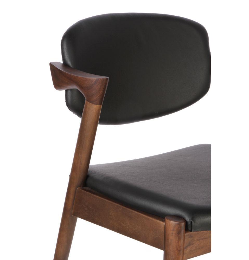 Replica Kai Kristiansen Kai 42 Dining Chair In Leather By
