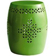 Outdoor Garden Stool   Green