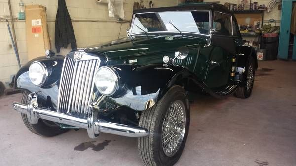 1955 MG TF1500 - $36,500 Los Angeles, CA - #ForSale # ...