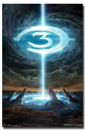 HALO 3 GAME POSTER Logo RARE HOT NEW 24X36 | New tattoos | Halo