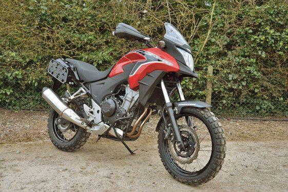New Off Road Kit Makes The Honda Cb500x More Dirt Capable Adv Pulse Honda Adventure Motorcycle Camping Offroad